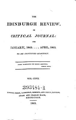 The Edinburgh Review  Or Critical Journal      To Be Continued Quarterly PDF