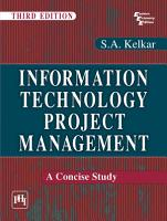 Information Technology Project Management   a Concise Study PDF