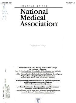 Journal of the National Medical Association PDF