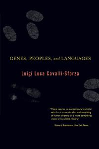 Genes  Peoples  and Languages PDF