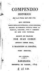 Compendio historico de la vida de Pio VII