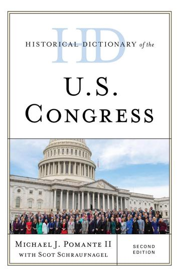 Historical Dictionary of the U S  Congress PDF