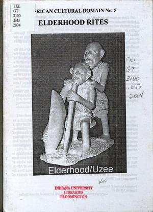 Elderhood Rites PDF