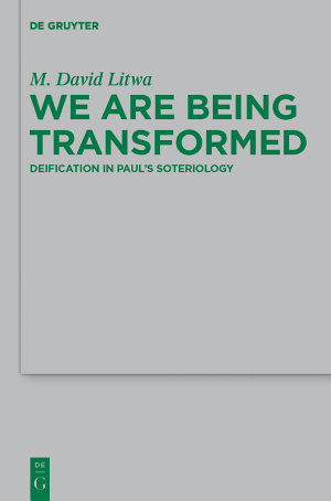 We Are Being Transformed