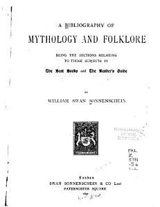 A Bibliography of Mythology and Folklore PDF
