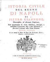 Istoria civile del regno di Napoli...