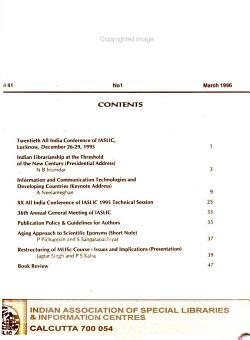IASLIC Bulletin PDF