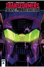 Transformers: Sins of the Wreckers #4