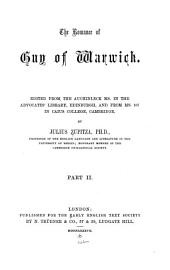 The Romance of Guy of Warwick: Issue 49