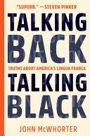 Talking Back  Talking Black