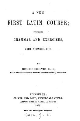 A new first Latin course PDF