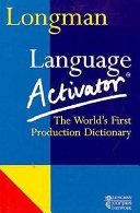Longman Language Activator PDF