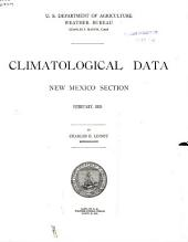 Climatological Data. New Mexico: Volumes 24-30