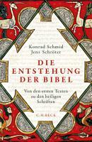 Die Entstehung der Bibel PDF