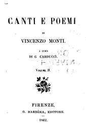 Canti e poemi: Volume 2