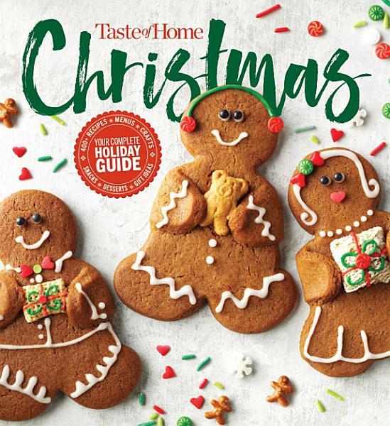 Download Taste of Home Christmas 2E Book