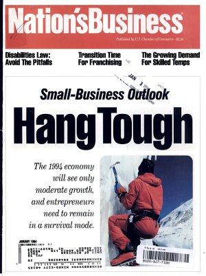 Small-Business Outlook - Hang Tough