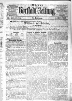 Wiener Stadt  und Vorstadtzeitung  Eigenth  und Red   Julius Seidlitz PDF
