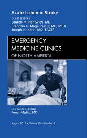 Acute Ischemic Stroke, An Issue of Emergency Medicine Clinics - E-Book