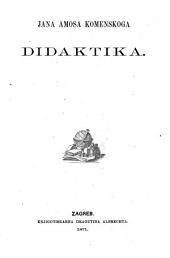 Jana Amosa Komenskoga Didaktika