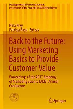 Back to the Future  Using Marketing Basics to Provide Customer Value PDF
