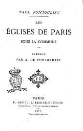 Les églises de Paris sous la Commune Paul Fontoulieu