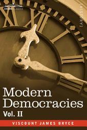 Modern Democracies: Volume 2