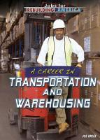 A Career in Transportation and Warehousing PDF