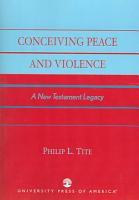 Conceiving Peace and Violence PDF
