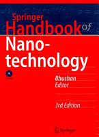 Springer Handbook of Nanotechnology PDF