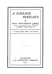 A Passage Perilous: Volume 1
