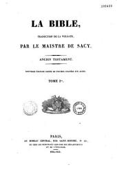 La Bible, traduction de la Vulgate: Ancien Testament