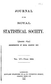 Journal of the Royal Statistical Society: Volume 55