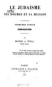Le judaïsme: ptie. Théodicée