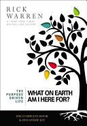 The What on Earth Am I Here For  Curriculum Kit