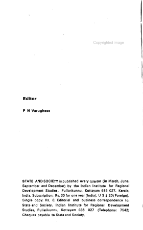 State and Society PDF