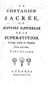 La contagion sacrée: ou histoire naturelle de la superstition, Volume2