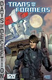 Transformers #35: Days of Deception