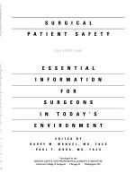 Surgical Patient Safety