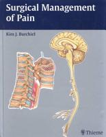Surgical Management of Pain PDF
