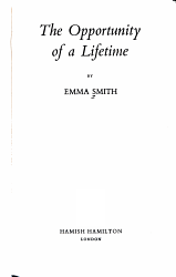 The Opportunity of a Lifetime PDF