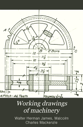 Working drawings of machinery