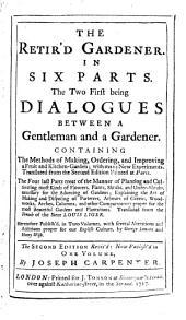 The retir'd Gardener