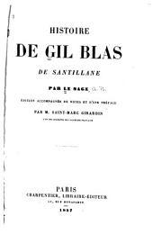 Histoire de Gil Blas de Santillane. Vignettes par J. Gigoux