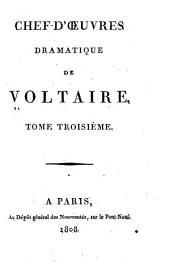 Chef-d'oeuvres dramatique: Volume3
