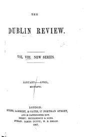 The Dublin Review: Volume 8; Volume 60