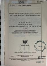 State and Local Economic Development Strategy PDF