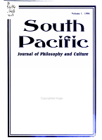 South Pacific Journal of Philosophy and Culture PDF