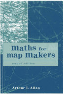 Maths for Map Makers