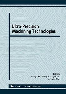 Ultra Precision Machining Technologies  CJICUPM2008